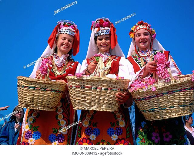 Bulgaria, Kazanlak, yearly roses festival