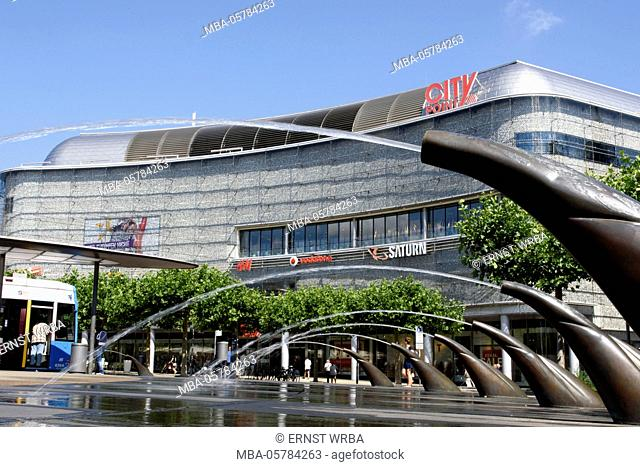 Shopping centre city Point, king's square, Old Town, Kassel, Hessen, Germany