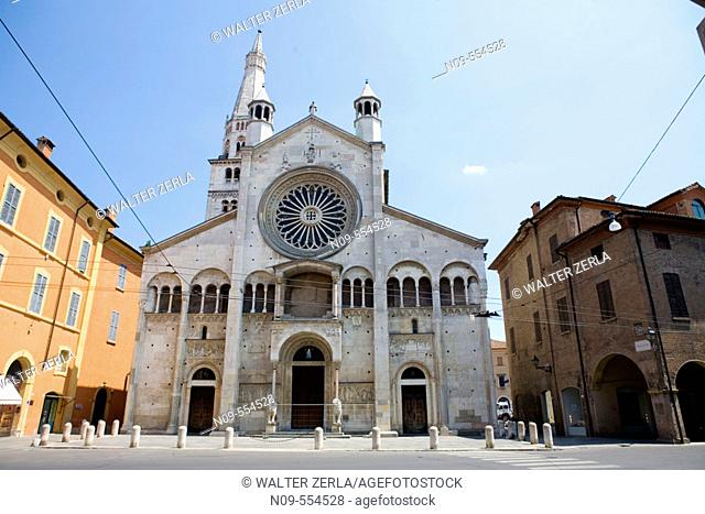 Duomo, Modena. Emilia-Romagna, Italy