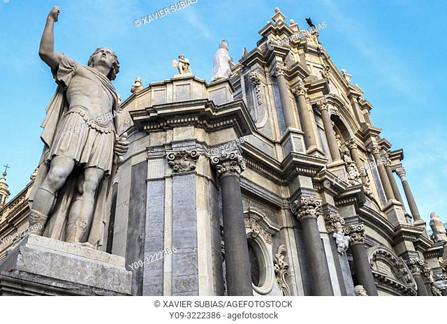 Saint Agathe Cathedral, Catania, Sicily, Italy