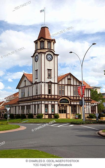 Rotorua Clock Tower, Tourist Information Center