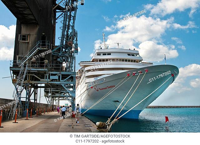 Thomson Destiny, cruise ship, Bridgetown, Barbados, Caribbean
