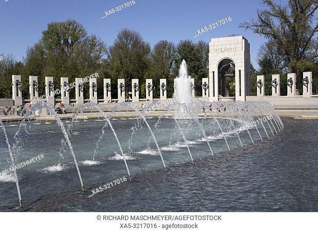 World War II Memorial, Washington D.C., USA
