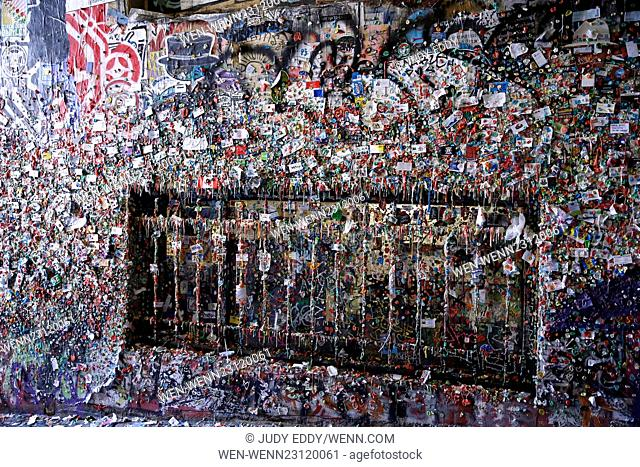 The gum wall at Seattle's Pike Place Market is scheduled for it's first deep clean in 20 years. Although the market cleans the curious tourist attraction every...