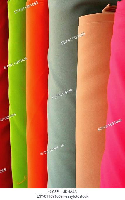 Colorful fabric background