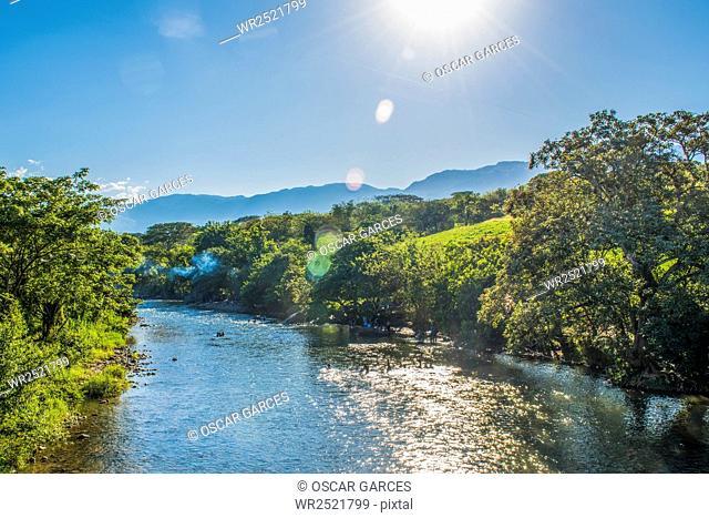 Rio Cartama; Tamesis; Antioquia; Colombia
