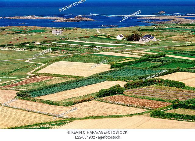 Island of Batz. Finistère department. Brittany province. Atlantic coast. France