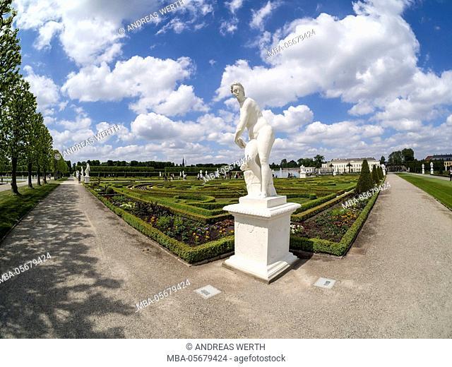 Herrenhauser Gärten, park at castle Herrenhausen, Hannover, Germany