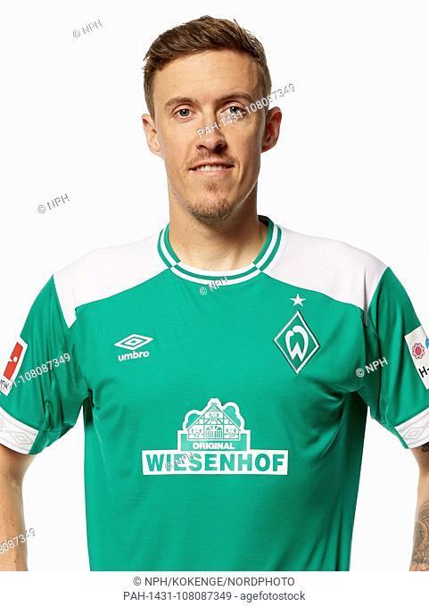 German Bundesliga, official photocall Werder Bremen for season 2018/19 in Bremen, Germany: Max Kruse ; Photo: nordphoto / Werder Bremen