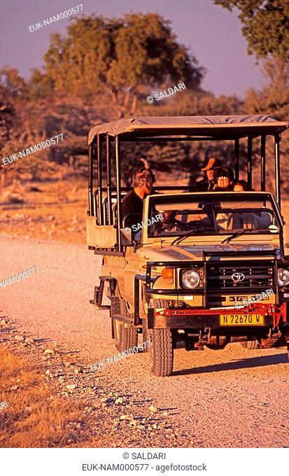 Safari 4X4, Etosha parc, Namibia