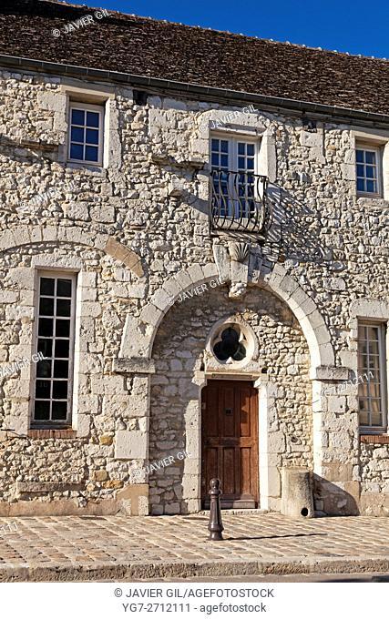 Architecture of Provins, Seine-et-Marne, Ile-de-france, France
