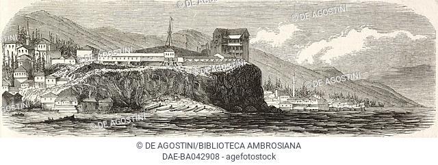 Trabzon, Turkey, illustration from L'Illustration, Journal Universel, No 583, Volume XXIII, April 29, 1854