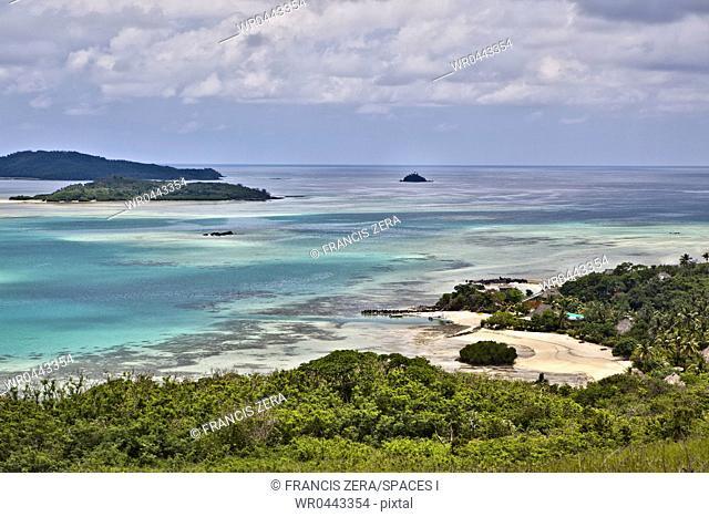 Tropical Island Coast