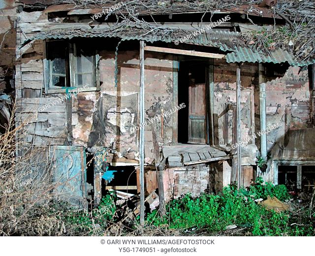 old abandoned derelict property in rome italy