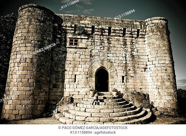 Sobroso Castle  Pontevedra  Galicia  Spain