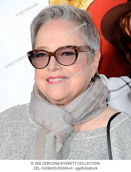 Kathy Bates at arrivals for THE BOSS Premiere, Regency Westwood Village Theatre, Los Angeles, CA March 28, 2016. Photo By: Dee Cercone/Everett Collection