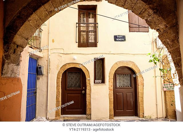 Old Venetian Building, Chania, Crete, Greece