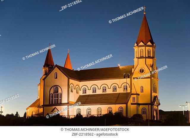 Church of Puerto Veras, Region X, Región de los Lagos, Patagonia, Chile