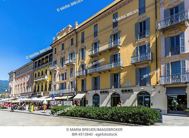 City center, Como, Como Lake, Como Province, Lombardy, Italy