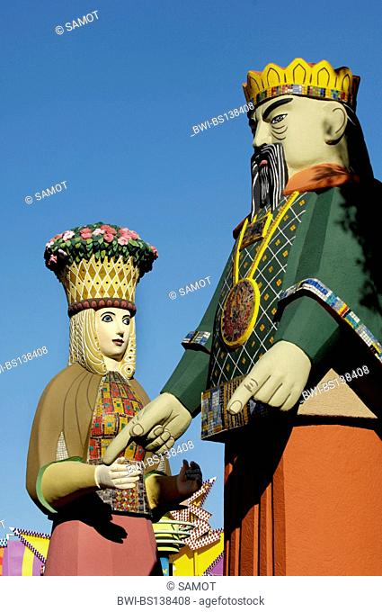 figur Kalifati at the amusement park Wiener Prater, Austria, Vienna