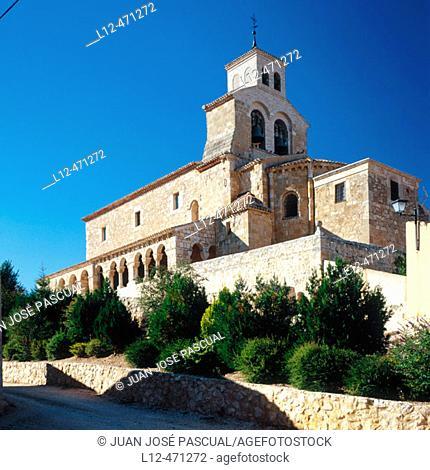 Romanesque church of Nuestra Señora del Rivero (12th century), San Esteban de Gormaz. Soria province, Castilla-León, Spain