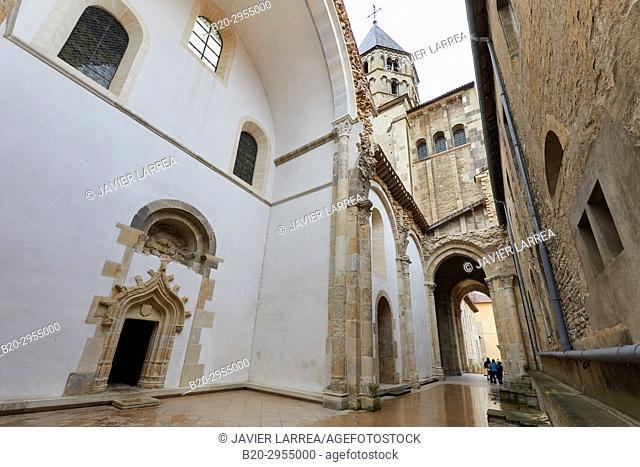 Chapel of Jean Bourbon 1456-1485, Cluny Abbey, Cluny, Saone-et-Loire Department, Burgundy Region, Maconnais Area, France, Europe