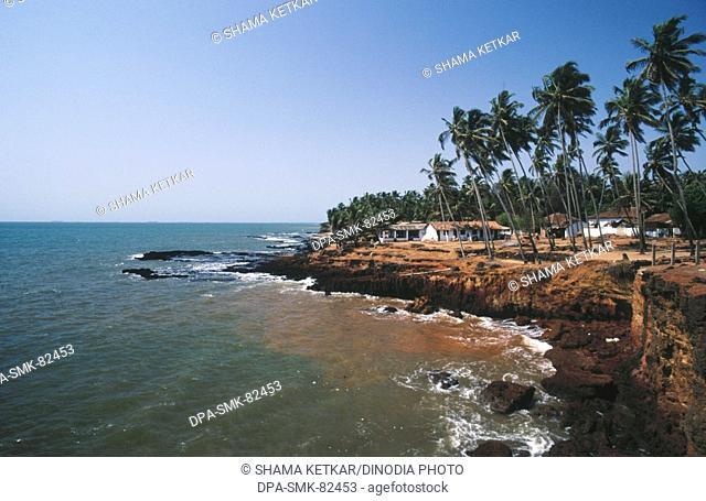 Anjuna beach , goa , india