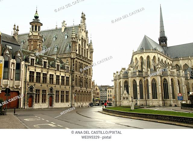 Saint Pierre's church  Louvain  Belgium