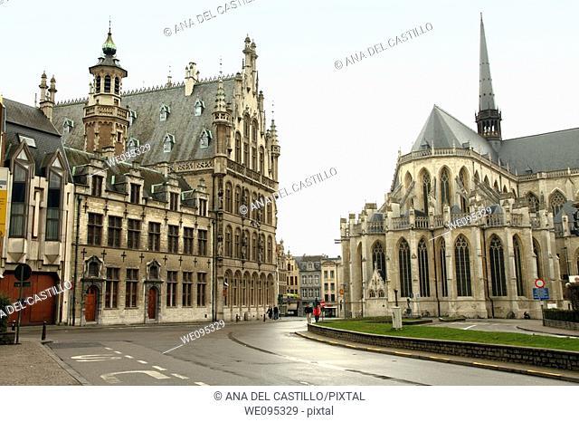 Saint Pierre's church  Louvain  Belgium
