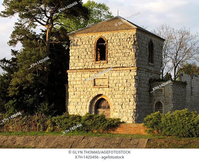 Tower of Former Church of St Thomas a Becket, Ettington, Warwickshire, England