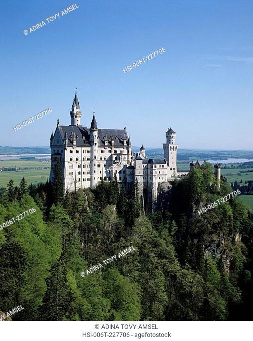 Germany. Neuschwanstein Castle