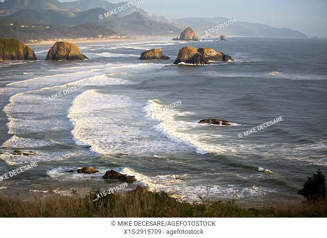 Dramatic Views of the Oregon Coast and Pacific Ocean from Chapman Point
