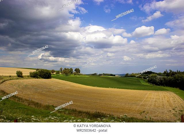 Landscape panorama view