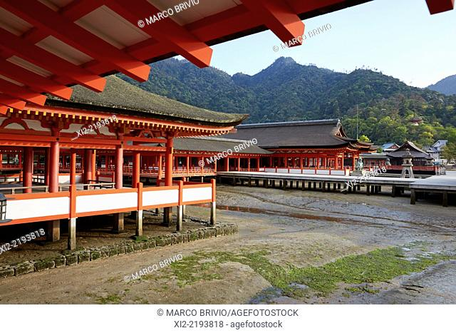Itsukushima Shrine. Miyajima, Hiroshima Prefecture, Japan