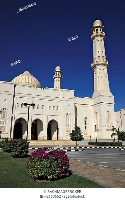 Sultan Qaboos Grand Mosque, Friday Mosque, Salalah, Oman, Arabian Peninsula, Middle East, Asia