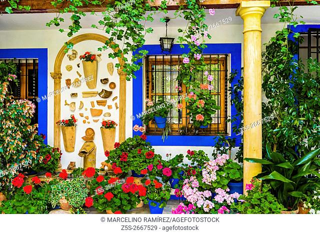 Courtyards Festival of Cordoba 2016 - La Fiesta de los Patios de Córdoba. In the list of Intangible Heritage of Humanity of Unesco since December 2012