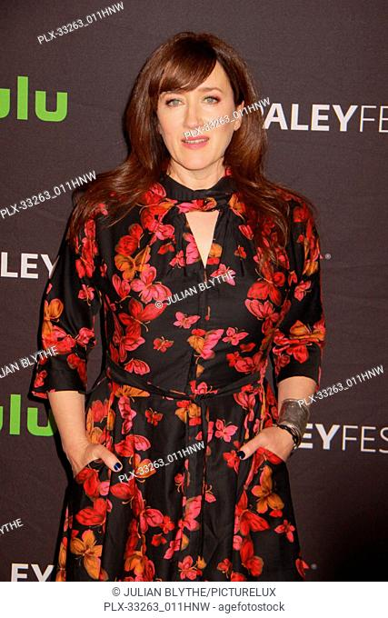 """Maria Doyle Kennedy 03/23/2017 PaleyFest 2017 """"""""Orphan Black"""""""" held at The Dolby Theatre in Hollywood, CA Photo by Julian Blythe / HNW / PictureLux"""
