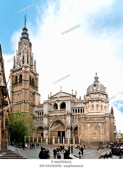 The Primate Cathedral of Saint Mary of Toledo (Spanish: Catedral Primada Santa Maria de Toledo) is a Roman Catholic cathedral in Toledo, Spain