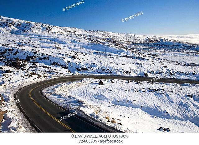 New Zealand, North Island, Central Plateau, Bruce Road, Mt Ruapehu