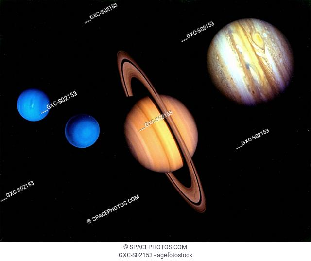The gaz planets of our solar system