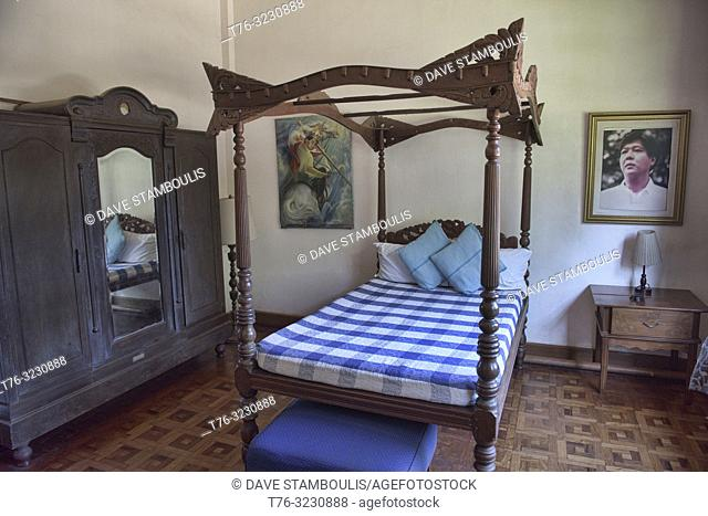 Interior of the Malacañang of the North Palace, Ferdinand Marcos former summer home, Paoay, Ilocos Norte, Philippines
