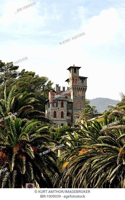 Castello in Moneglia, Riviera di Levante, Italy, Europe