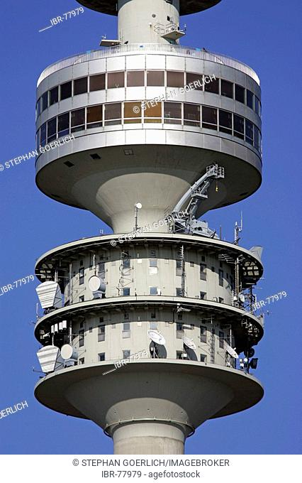 Munich, GER, 18. Oct. 2005 - Television tower on the area of the olympic games 1972 in Munich