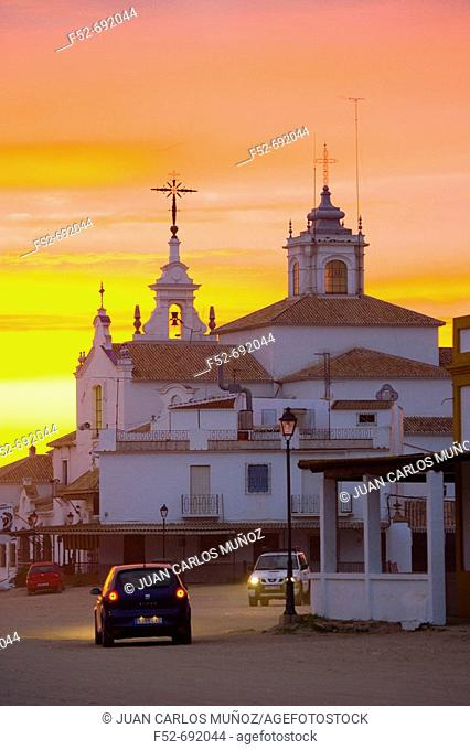 Rocío Village. National Park of Doñana, Huelva, Andalucia, Spain