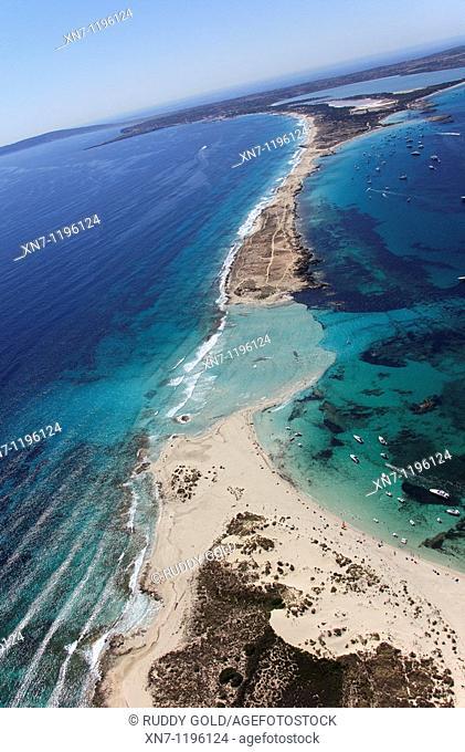 Pas des Trucadors, Ses Illetes area, Formentera, Balearic Islands, Spain