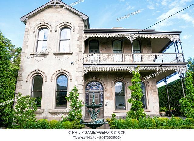 Grand Victorian home in suburban Elsternwick, Melbourne, Australia