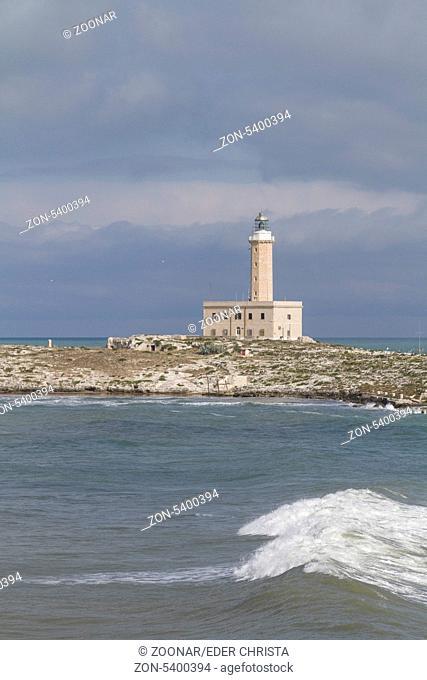 Der Leuchtturm von Vieste zählt zu den wichtigsten Signalfeuern Italiens