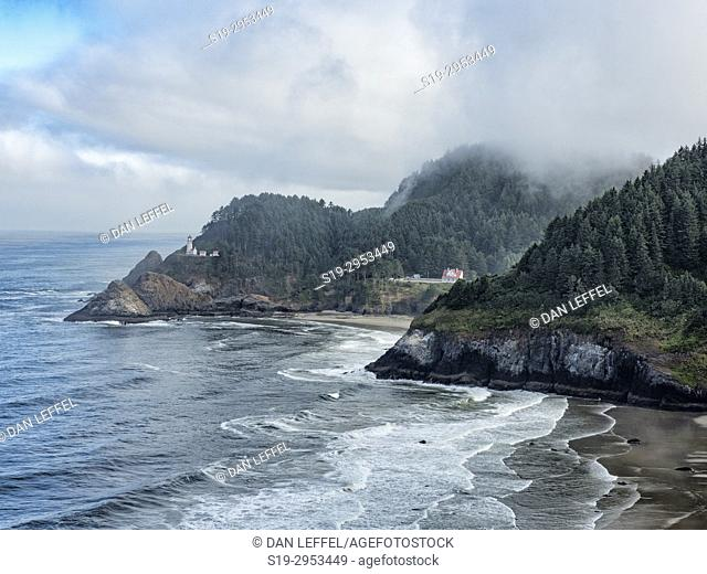 Heceta Head Lighthouse Oregon. USA