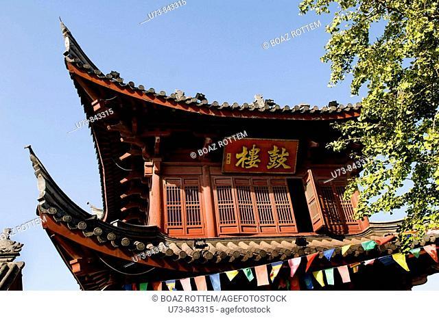 Old buildings in Nanjing