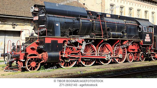 Romania, Crisana, Oradea, steam locomotive,